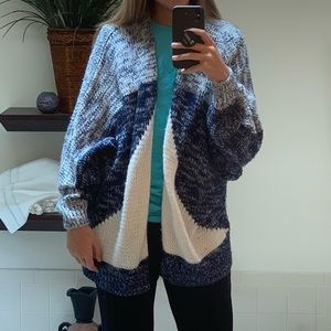 Woven Forever 21 Cardigan